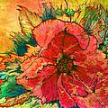 Christmas Flower by Nancy Cupp