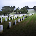 Christmas Fort Rosecrans National Cemetery  by Hugh Smith