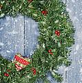 Christmas Garland by Amanda Elwell