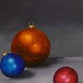 Christmas Glow Greeting Card  by Jo Appleby