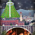Christmas In Spokane by Mark Armstrong