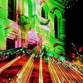 Christmas Light Show by Garrett Nyland