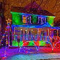 Christmas Lights by Chris Bordeleau