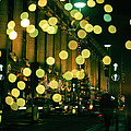 Christmas Lights In Oxford Streeet by Unknown Photographer