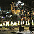 Christmas Lights by Munir Alawi