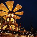 Christmas Market Or Rindermarkt Near by Danita Delimont