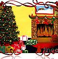 Christmas - Memories - Ribbons - Bows by Barbara Griffin