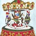 Christmas Merry Go Round by Patty Vicknair