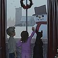 Christmas Morning Greeting by Ken Morris