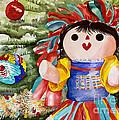 Christmas Muneca by Kandyce Waltensperger