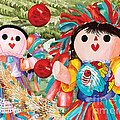 Christmas Munecas by Kandyce Waltensperger