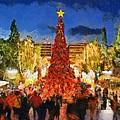 Christmas Night by George Atsametakis