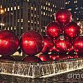 Christmas On 5th Avenue Manhattan 1 by Steve Purnell