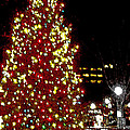 Christmas On Public Square Three by Kevin J Cooper Artwork