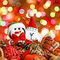 Christmas Penguin by Peter Lakomy