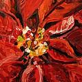 Christmas Poinsettia by Susan Elizabeth Jones