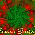 Christmas Ribbons by Sandy Keeton