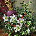 Christmas Roses by Albert Williams