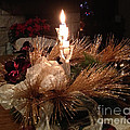 Christmas Shining Light by Luther Fine Art