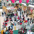 Christmas Shopping by Valentino Visentini