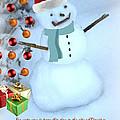 Christmas Snowman by Eric Liller