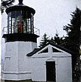 Christmas Time At Cape Meares Lighthouse by Image Takers Photography LLC - Veranda Haddon