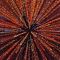 Christmas Tree At Warp Speed I by Rick Locke
