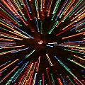 Christmas Tree At Warp Speed II by Rick Locke