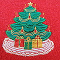 Christmas Tree Embroidered by Dotti Hannum