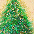 Christmas Tree Gold By Jrr by First Star Art