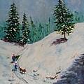 Christmas Tree Harvest by Joan Mace