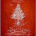Christmas Tree Lighting Patent from 1926 - Red by Aged Pixel