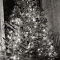 Christmas Tree Memories Monochrome by Carol Whaley Addassi
