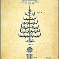 Christmas Tree Patent from 1882 - Vintage by Aged Pixel
