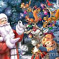Christmas Tree-rudolph by MGL Meiklejohn Graphics Licensing