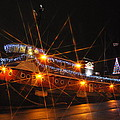 Christmas Tug Boat by Larry Peterson
