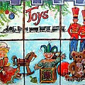 Christmas Window by Linda Shackelford