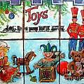 Christmas Window by Linda Shackelford