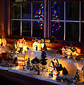 Christmas Winter Village by Clint Buhler