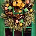Christmas Wreath by Nora Martinez