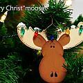 Christmoose by Karen Jones
