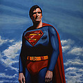Christopher Reeve As Superman by Paul Meijering