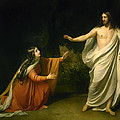 Christs Appearance To Mary Magdalene After The Resurrection by Alexander Andreyevich Ivanov