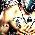 Christy Angel Mask Half by Jan Raphael