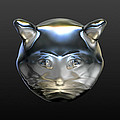 Chrome Cat by Stacy C Bottoms