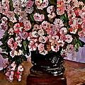 Chrysanthemums by Izabela Bienko