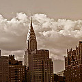 Chrysler Building And The New York City Skyline by Vivienne Gucwa