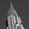 Chrysler Building Bw by Susan Candelario