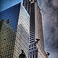 Chrysler Building From Below by Miriam Danar