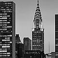 Chrysler Building New York City Bw by Susan Candelario